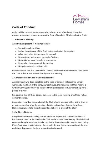LH Code Of Conduct Image
