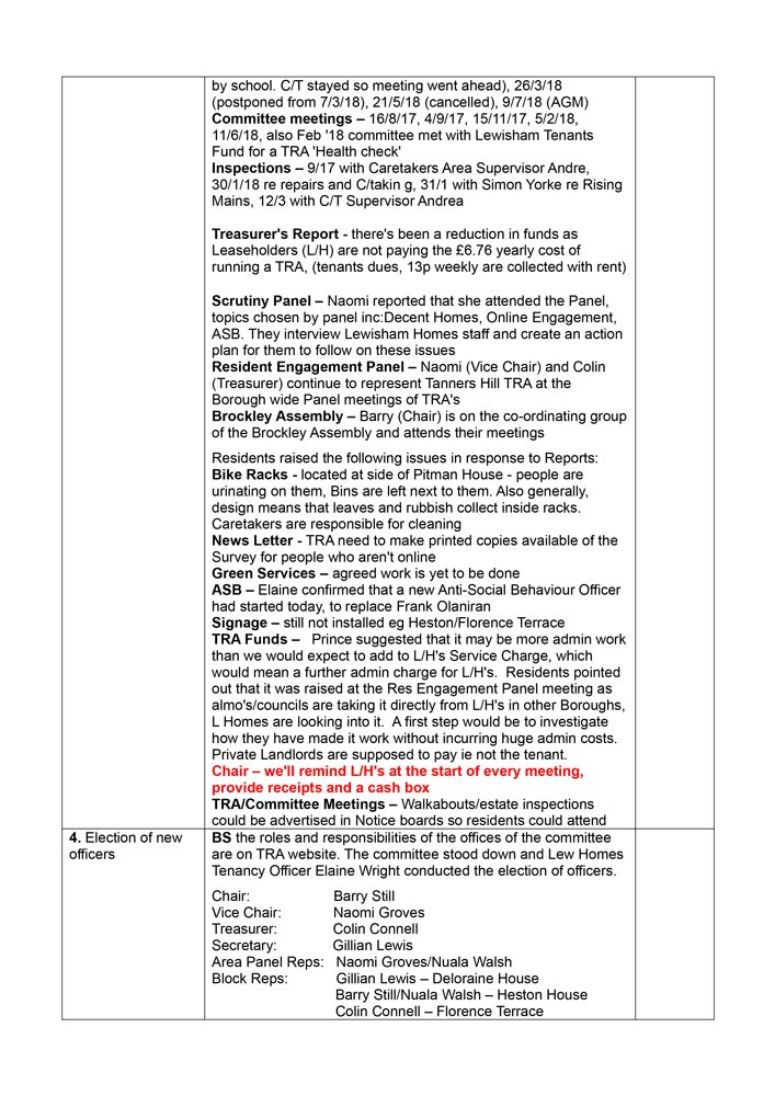 TRA AGM Minutes July 2018 Page 3 Minutes cont